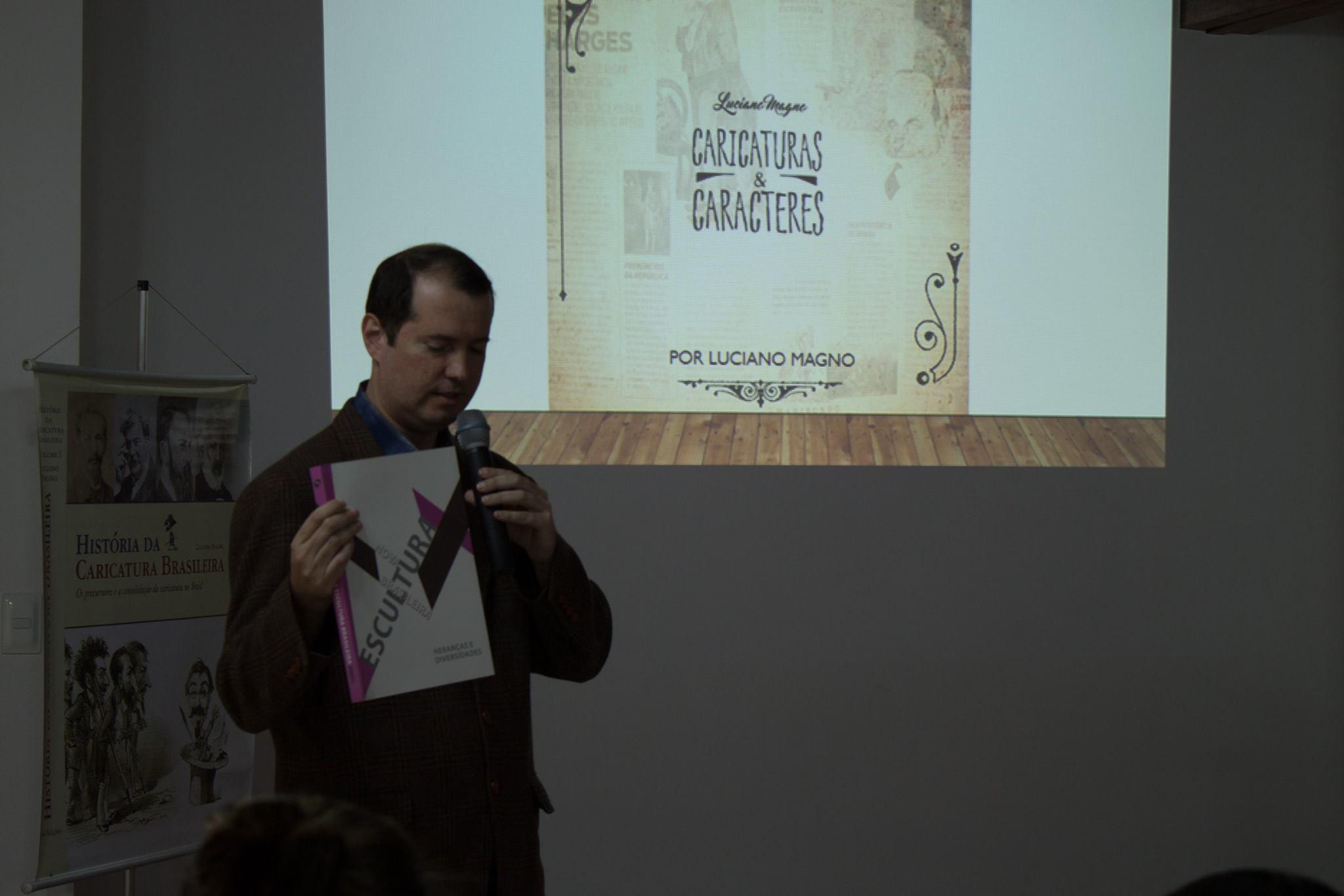 """Palestra """"História da Caricatura Brasileira"""" e seus primórdios"""