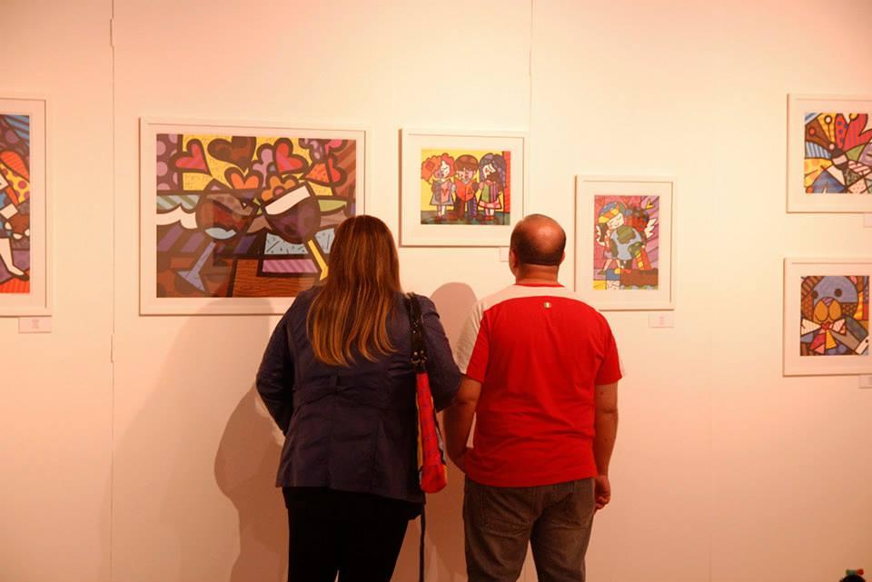 """Exposição """"Cores da Arte"""""""